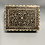 Thumbnail: A good XVIII / XIX century inlaid Indian box in wood , ebony and ivory .