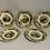 Thumbnail: Five polychrome faience dishes from creil et montereau.