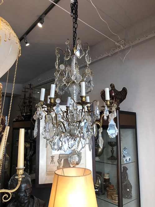 A French chandelier from the XIX century.