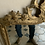 Thumbnail: A French XVIII century gilded mirror in wood.