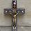 Thumbnail: A Corpus Christi on a silver cross with micro mosaic . Italy XIX century .