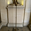 Thumbnail: A bronze gilded  floor lamp around 1950 by  Ramsay .