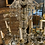 Thumbnail: A Venisan chandelier in glass , metal and crystal from the XX century .