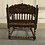Thumbnail: A very refined and rare Dutch colonial armchair.