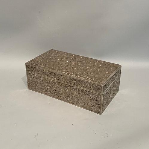 A Chinese silver box