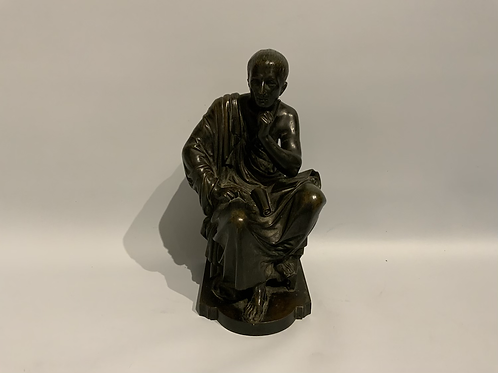 A bronze statue,probably France XIX century .