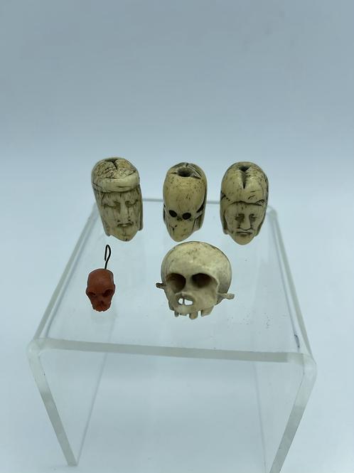 Six memento mori from the XVII /XVIII century .