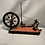 Thumbnail: A rare and interesting French XVIII century spinning wheel.