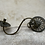 Thumbnail: A pair of bronze turning sconces .