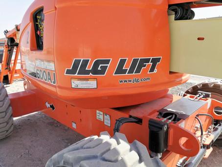 JLG Fabricat în America din 1969