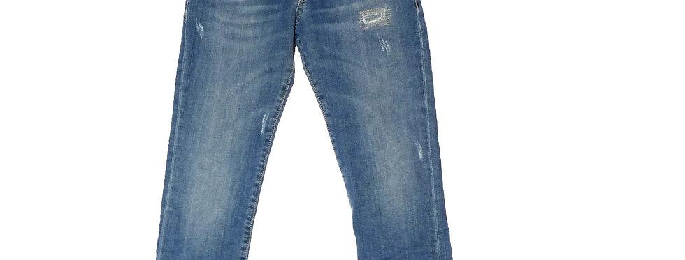 Manuel Ritz Jeans Con Strappi MR0568