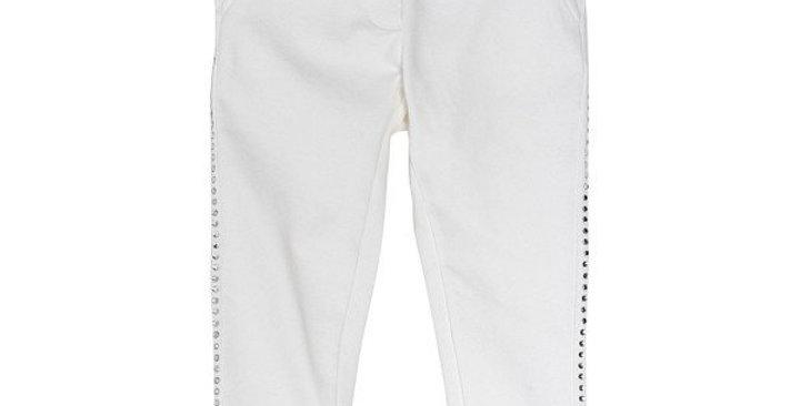 Monnalisa Pantaloni felpa strass 194420B2