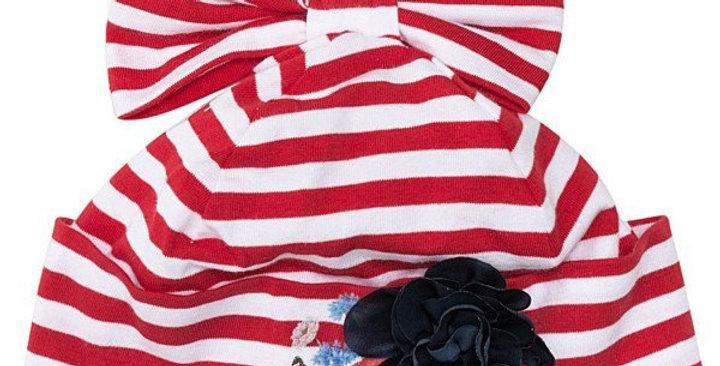 Monnalisa Cappellino neonata righe 353003A6