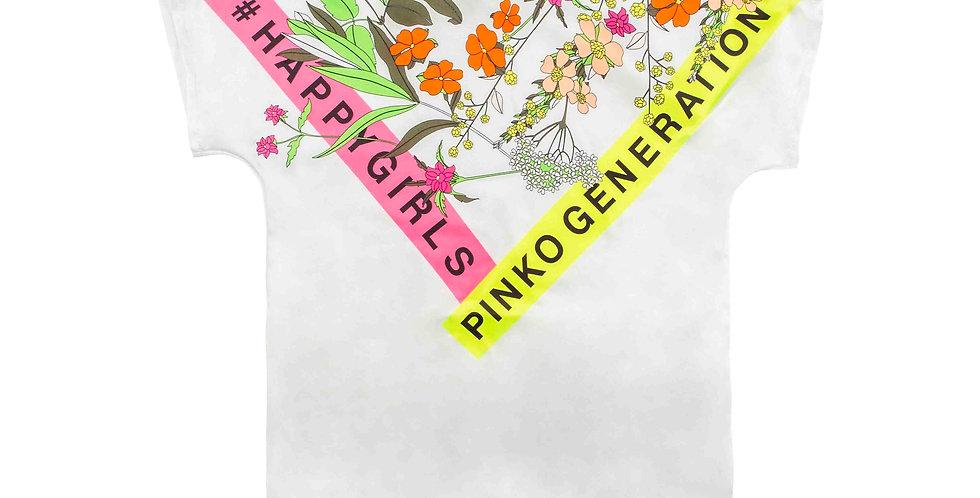 Pinko MAGLIA TWILL E JERSEY GIRL 024420