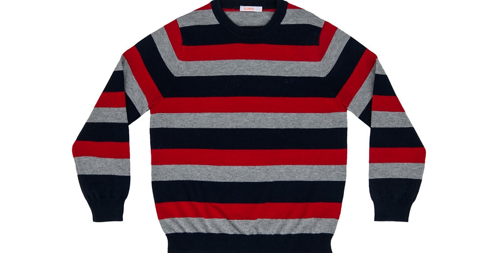 Sun 68 BOY'S ROUND FULL STRIPES Code: K28307