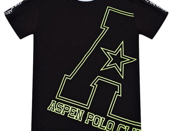 ASPEN Polo Club T-SHIRT STAMPA LOGO 1036M0367T