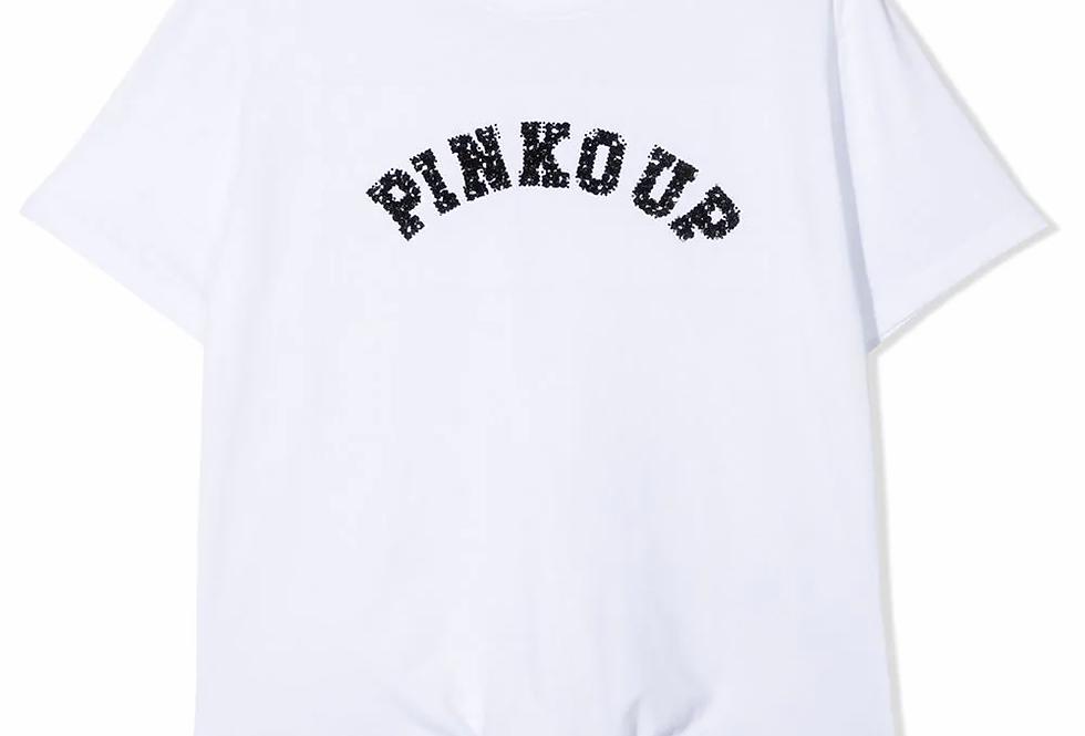 PINKO UP T-SHIRT CON STAMPA Art. 027227