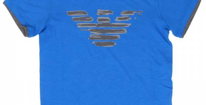 Armani Junior T-Shirt Stampa Frontale Cod. 3Y4T03