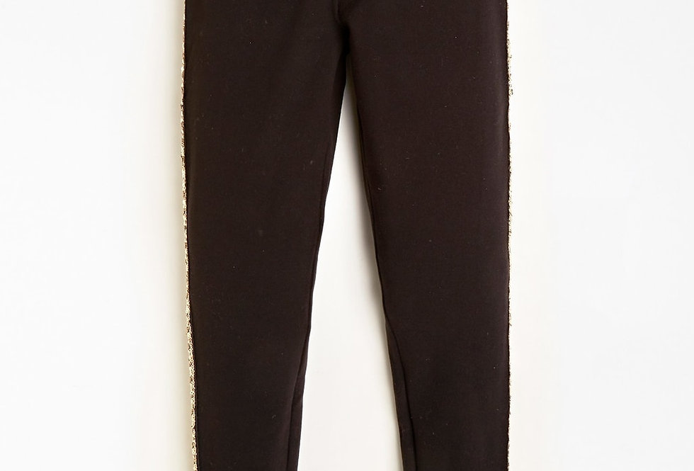 Guess LEGGINGS CON BANDA IN PAILLETTE J0BB00KA480