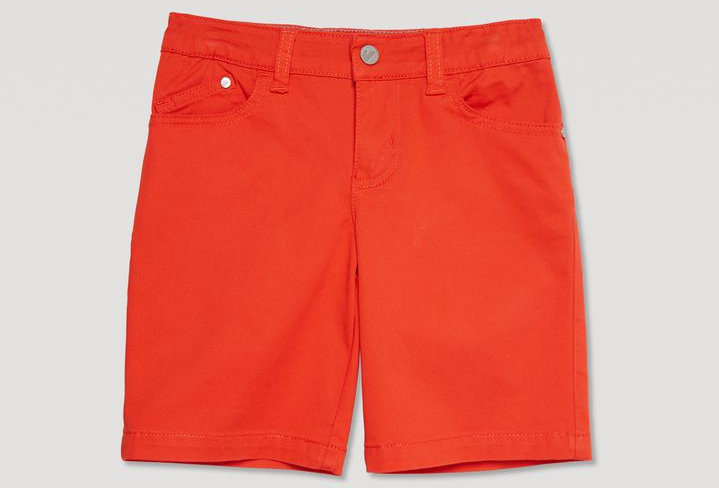 Armani Junior Bermuda In Cotone Stretch 3Z4S01