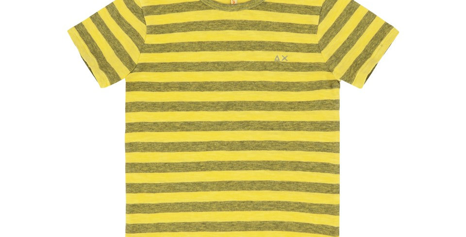 Sun 68 BOY'S T-SHIRT ROUND STRIPES T19310