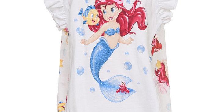 Monnalisa Maxi T-shirt Stampata   313622P2