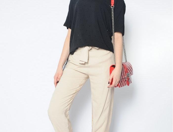 Pinko Pantalone In Twill Marocaine 1B13LH