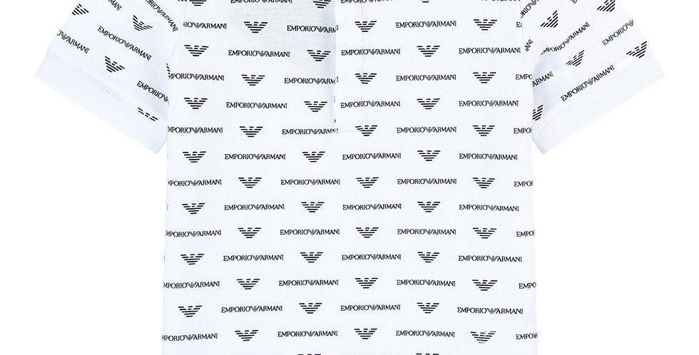 Emporio Armani Polo Stampa  Logo 3G4F89