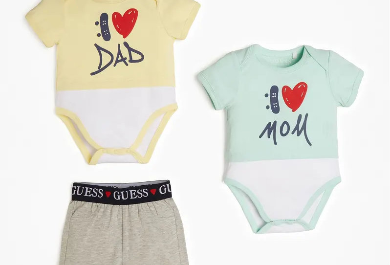 Guess PACCO SET 2 BODY E SHORT P02G06K6YW0