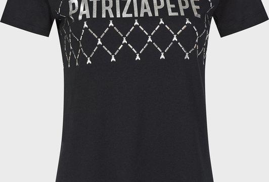 Patrizia Pepe T-SHIRT C/LOGO 8M1119A4V5