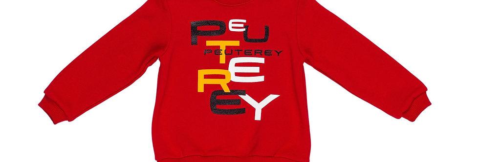 Peuterey FELPA CON STAMPA LOGO PTB1590