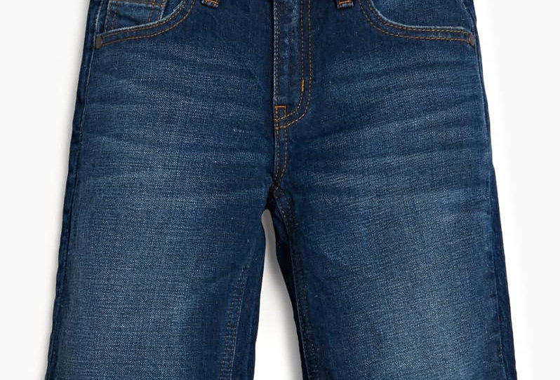 SHORT IN JEANS INDACO  L02D17D41E0