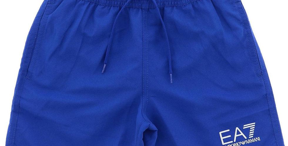 Emporio Armani Costume boxer con logo a contrasto 906005