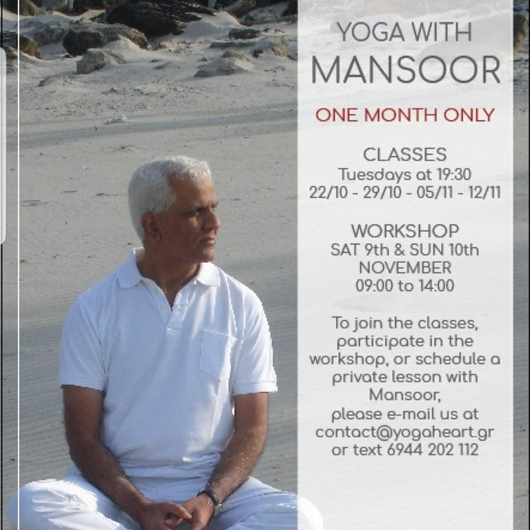 Workshop with Mansoor