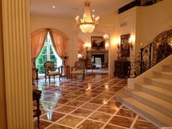 French Chateau Elegant Foyer