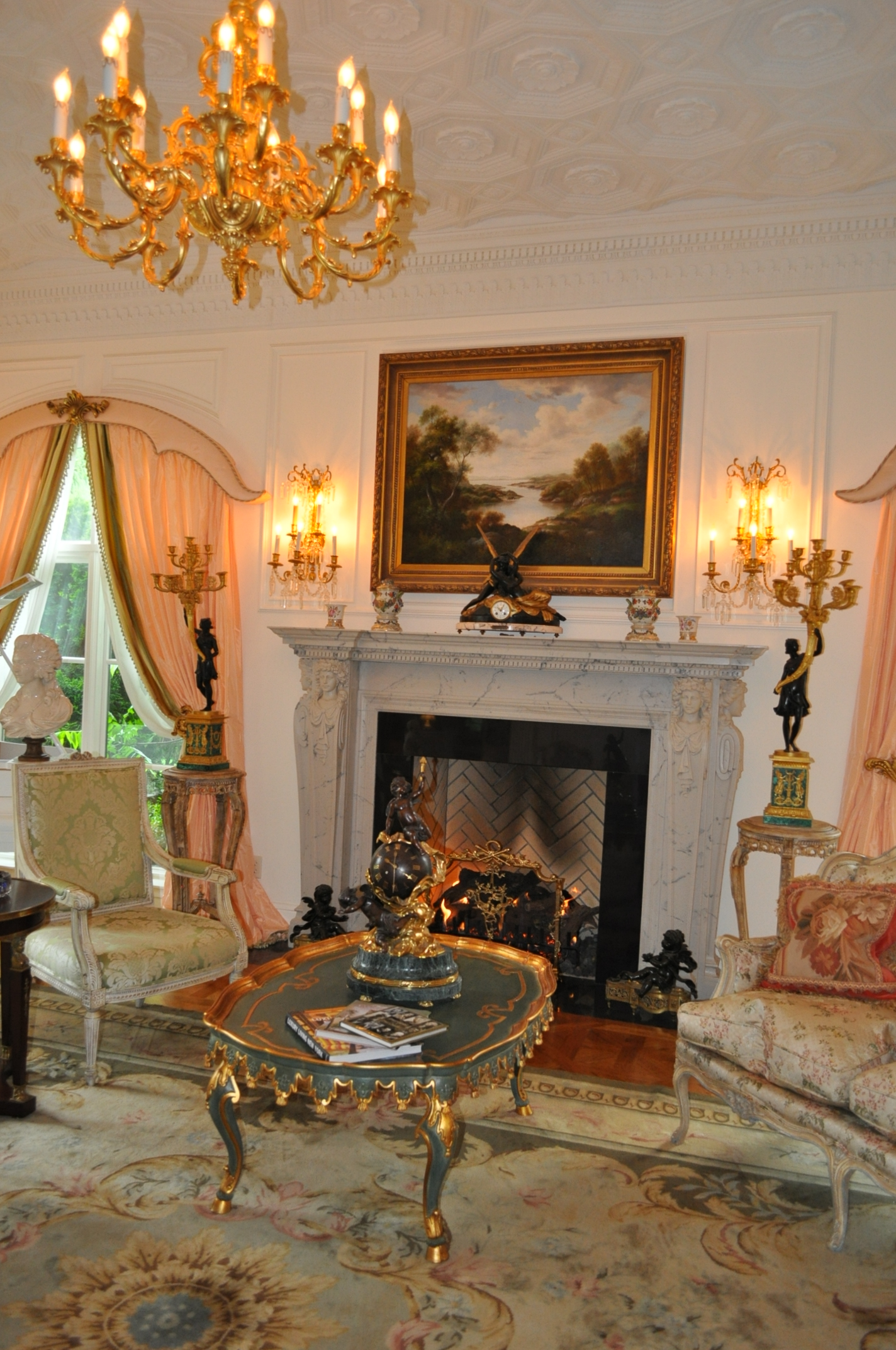 French Chateau Living Room