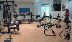 Completed new residential gym