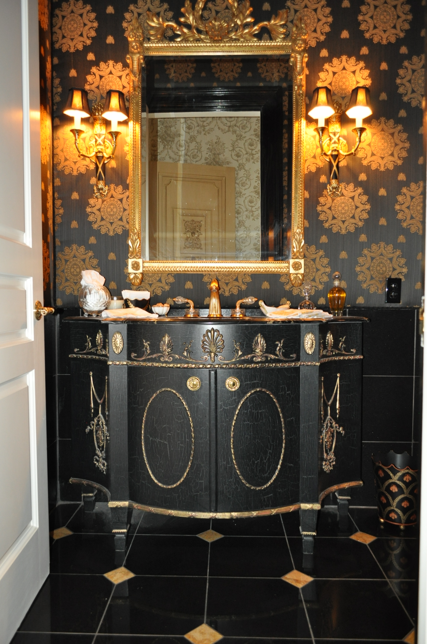 Napoleonic Powder Room