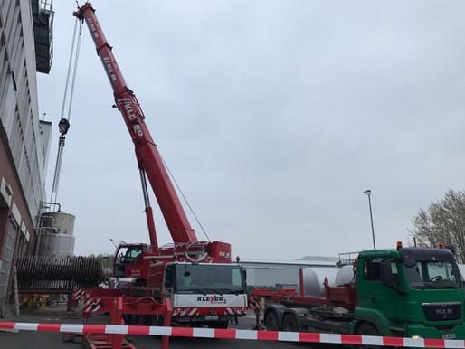 Krandienst Kranverleih Kranvermietung Kranarbeiten Autokrane Mobilkrane Baumfällungen
