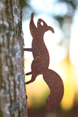 Gartenstecker Eichhörnchen