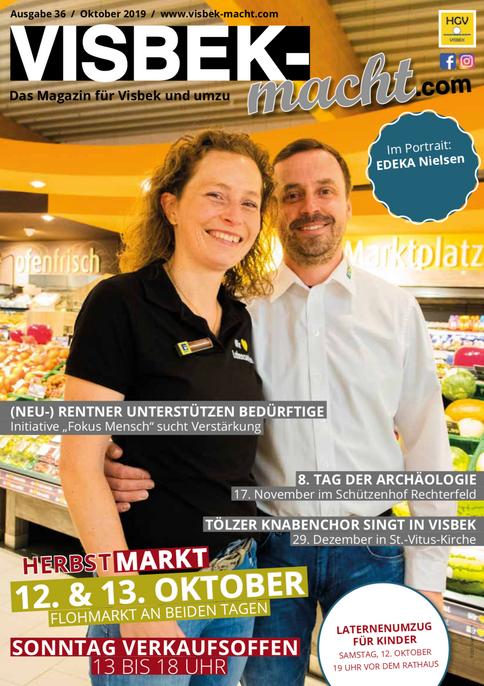 VISBEK macht Magazin! - Die neue Herbstausgabe📰🤓‼️