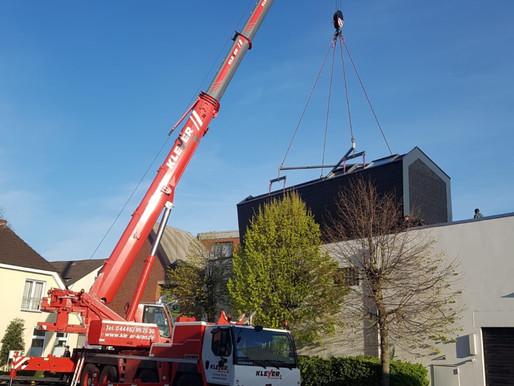 Krandienst Kranvermietung Kranverleih Kranarbeiten Baumfällungen Autokran und Arbeitsbühne in Cloppe