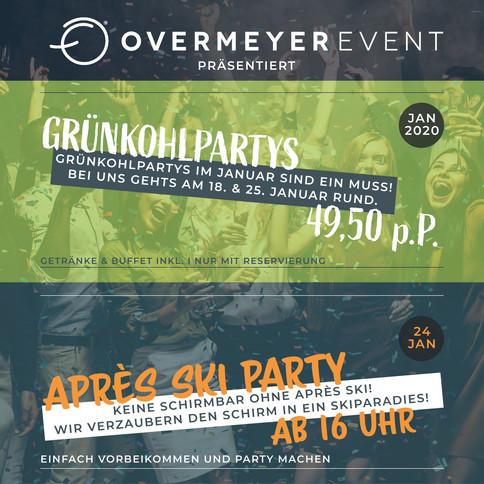 VISBEK macht Grünkohl- & Après-Ski-Parties - Overmeyer Event