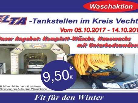 FIT FÜR DEN WINTER 2017 - WASCHAKTION