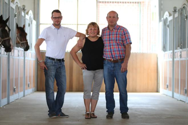 Niklas, Gabi und Klaus Kotschofsky