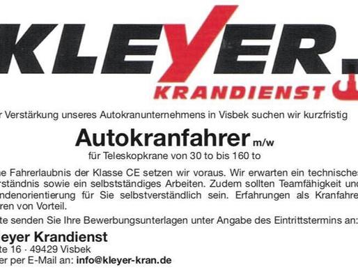 Krandienst Kranvermietung Kranverleih Autokran Baumfällungen
