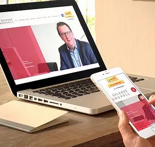 Visbek macht Recht online - Kanzlei Gelhaus & Nuxoll  Visbek macht Recht online   Jetzt ganz einfach 24h online auf die eigene Akte zugreifen, einen Unfall melden oder auch die Scheidung einreichen! Endlich ist die neue Webseite www.gelhaus-nuxoll.de fertig. Die Rechtsanwälte Matthias Gelhaus und Kerstin Nuxoll informieren hier über ihre Angebote und ermöglichen mit ihrer neuen Webseite einen einfachen und schnellen Zugang zu allen wichtigen Themen.    Per Mausklick die Scheidung einreichen – das ist ganz neu!