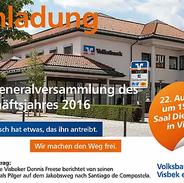 Visbek macht Generalversammlung - Volksbank Visbek