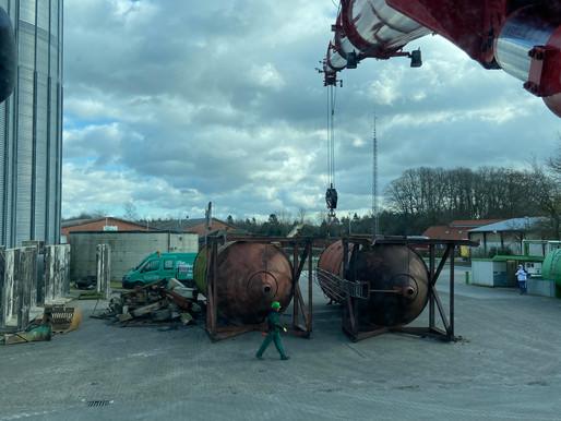 Krandienst Kranvermietung Kranverleih Baumfällungen Autokran und Arbeitsbühnen mieten in Harpstedt