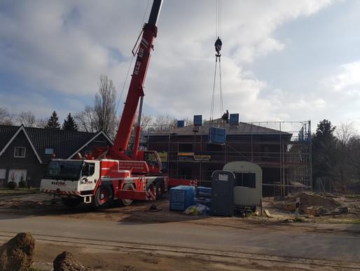 Krandienst Kranvermietung Kranverleih Autokran mieten Arbeitsbühne mieten Baumfällungen in Steinfeld